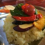 クマネコ印 - 食欲をそそる野菜の彩り