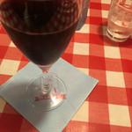 51174535 - グラスワイン赤