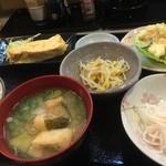 むつくら亭 - 本日の定食(¥800):だし巻き