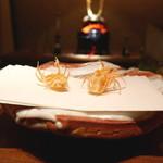 天ぷら 元吉 - 料理写真:海老の脚