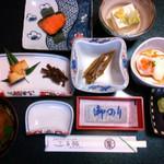 石水庭旅館 笛吹川 - 料理写真: