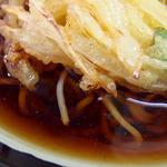 ランチハウス - 野菜かき揚げ天そば(400円)