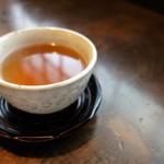胡蝶庵 仙波 - 蕎麦茶