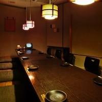 ご宴会や接待には個室もご用意致しております