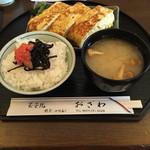 玉子焼 おざわ - 玉子焼御膳 ごはん みそ汁付 ¥1,300-