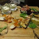 リセラ リナーシェ - 前菜4種盛り