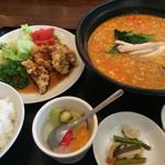 碧亭 - 料理写真:タンタン麺セット