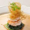 皿の上の自然il Gastro Sara - 料理写真:エビのポワレ
