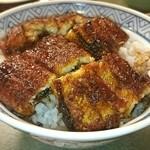 鰻 木屋 - うなぎ丼 特撰(5切れ)