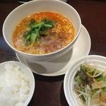 來庵 - 料理写真:担々麺セット(1230円)