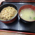 Dontei - ミニ牛丼270円(税込)