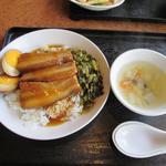 51191432 - 控肉飯(コンパーファン)ランチ980円