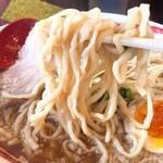 麺や ようか - 煮干し中華麺リフト