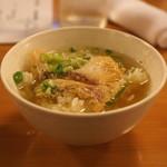 ひだまり - 食事 (鯛茶漬け)