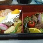 シャトレーゼ C.C.マサリカップ レストラン - 肉、魚、色々です!