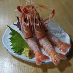 ながた - 料理写真:手長エビの刺身