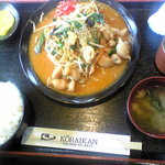 高麗館 - ランチ~ ホルモン野菜炒め定食