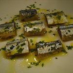 トラットリア ダルピアット - 秋刀魚のレモンマリネ