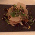 HOTEL CIPRIANI RESTAURANT - Sole fillet with onions, pine nuts and raisins(友人分)