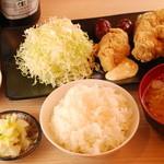 鶏の三平 - ★昼のから揚げ定食