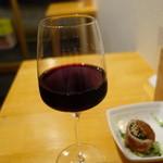むぎコメぶどう ヤシオリ - 2016.05 赤ワイン(700円)
