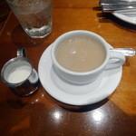 ウエストパークカフェ - ミルクティ+270円