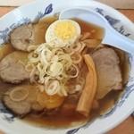そば・うどん 八起家 - チャ-シュウ麺560円