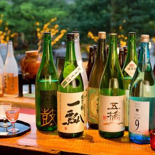 兵庫の地酒と、季節の地酒。