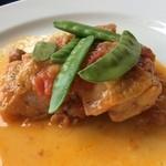レストラン・ラグーン - 鷄のフレッシュトマトのソース