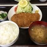 やまもと食堂 - 料理写真:H28.05.07 特大とんかつ定食