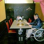 焼肉館勝 - 車椅子でもゆっくりお食事頂けます!