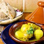 モロッコ料理の台所 エンリケマルエコス - 鶏肉とじゃがいものタジン