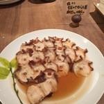 清泉寮新館レストラン - 蛸のやわらか煮