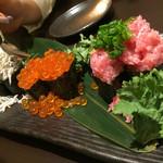 鮮魚個室居酒屋 利休 - こぼれ寿司