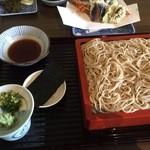 産庵 - 天ぷら蕎麦