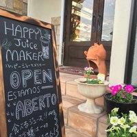 HAPPY Juice MAKER(フルーツショップカミヤ店内) - 甘~い香りで溢れるフルーツ屋