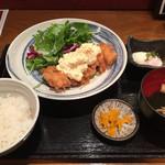 神屋流 博多道場 - チキン南蛮定食¥800