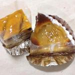 ノエル - リンゴケーキと洋梨タルト