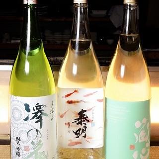 こだわりの九州の焼酎・地酒を♪