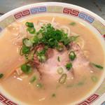 お好み焼き きしべ  - クリーミー豚骨、宮島ラーメン