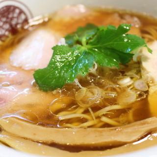 らぁ麺 とうひち - 料理写真:鶏醤油らぁ麺