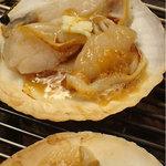 韓国料理 貝料理専門店  海家  - ホタテバター。