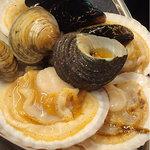 韓国料理 貝料理専門店  海家  - 貝盛り合わせ。