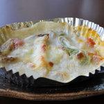 お料理 さきの - 鮭ときのこクリームソース焼き