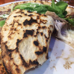 PIZZERIA IMOLA - 肉肉ピッツァの裏面