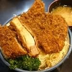 とんかつ かつ壱 - ロースカツ丼ソース味950円