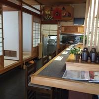 寿司一作 - カウンター