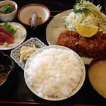 かつれつ軒 - ヒレカツ定食