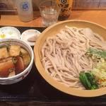満月うどん - 肉汁うどん \750 + 特盛り(四玉) \200