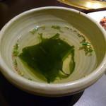 51236275 - 【すきしゃぶ御膳 3000円】スープ♪
